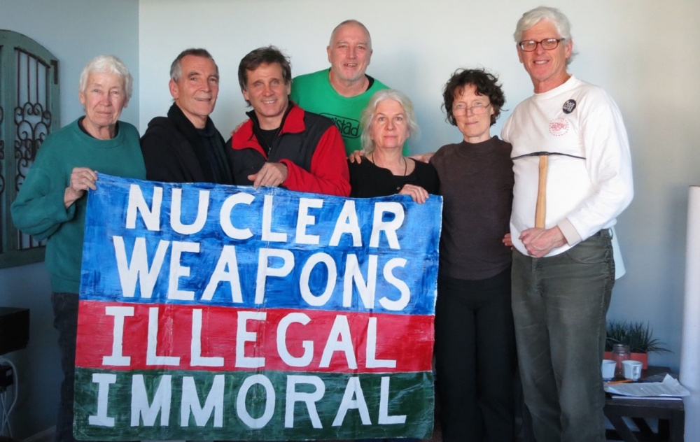 These 7 peace activists face 25 years in prison for taking peaceful action at a U.S. nuclear submarine base