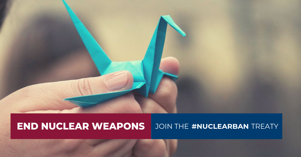 Live Blog: International Day for the Total Elimination of Nuclear Weapons 2019