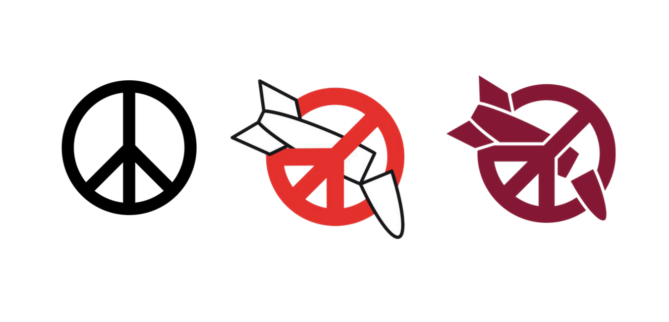 A movement's symbol for a world without nuclear weapons
